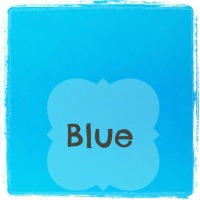 blue colour