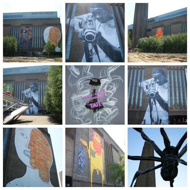 Tate modern street art