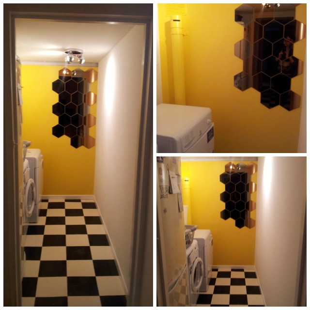 utility room collage