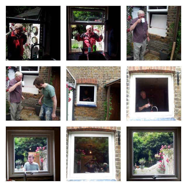 kitchen window transformation