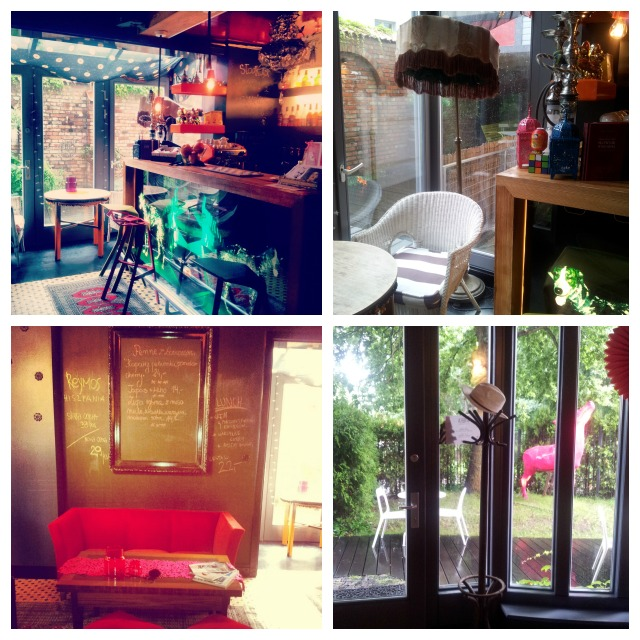 Arthotel Lalala bar area