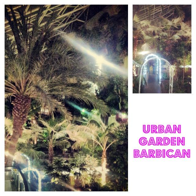 Urban garden Barbican