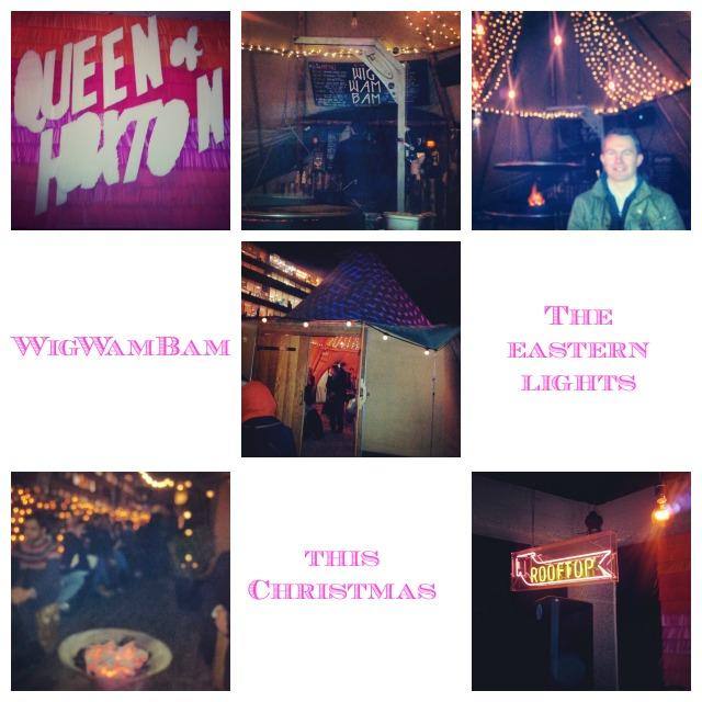 Wigwambam Queen of Hoxton rooftop bar