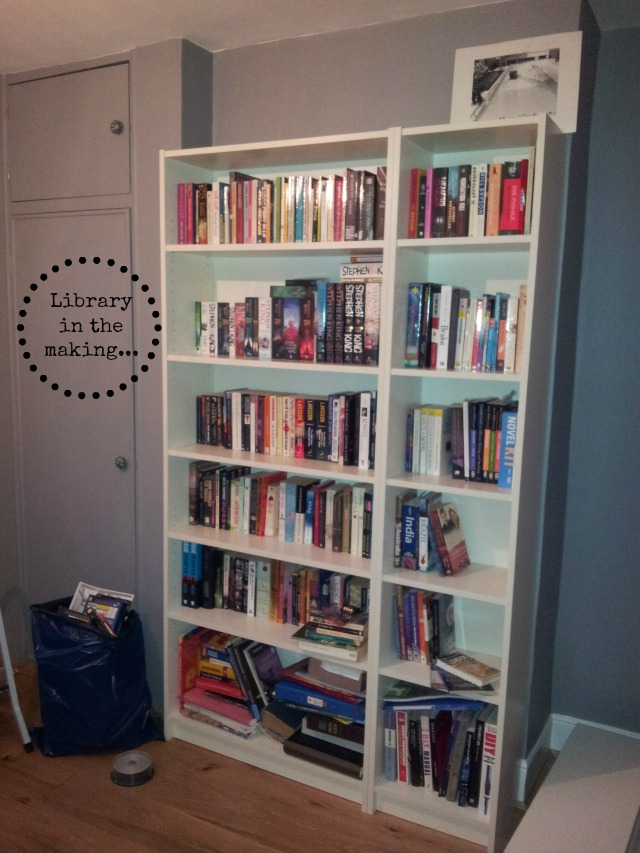 Library in the making