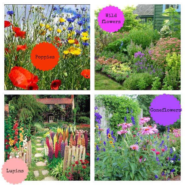 cottage garden moodboard