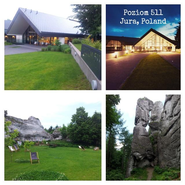 Poziom 511 design hotel in Jura Poland