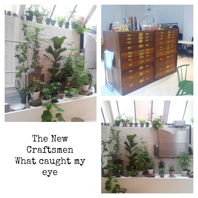 The New Craftsmen Mayfair shop plants
