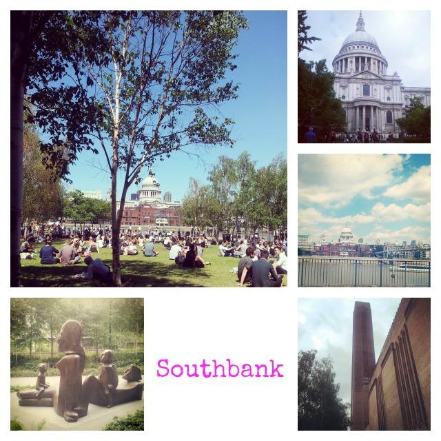 Southbank St Pauls Tate Modern Art