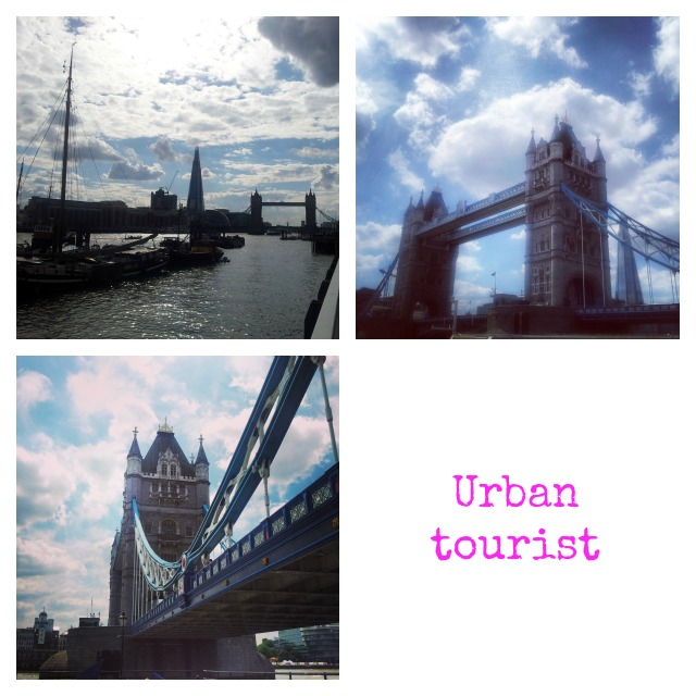 Urban tourist London bridge
