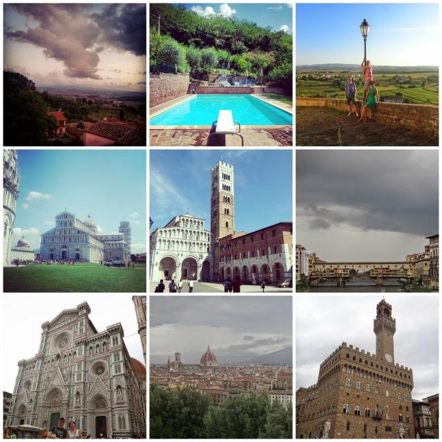 Tuscany, Pisa, Luca, Florence, Italian roadtrip