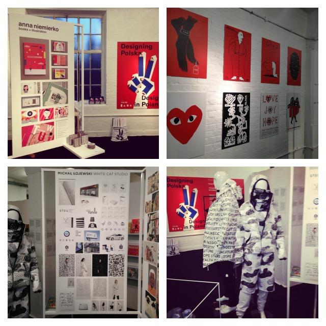 Designing Polska at Tent London, London design Festival 2014, illustrations and posters