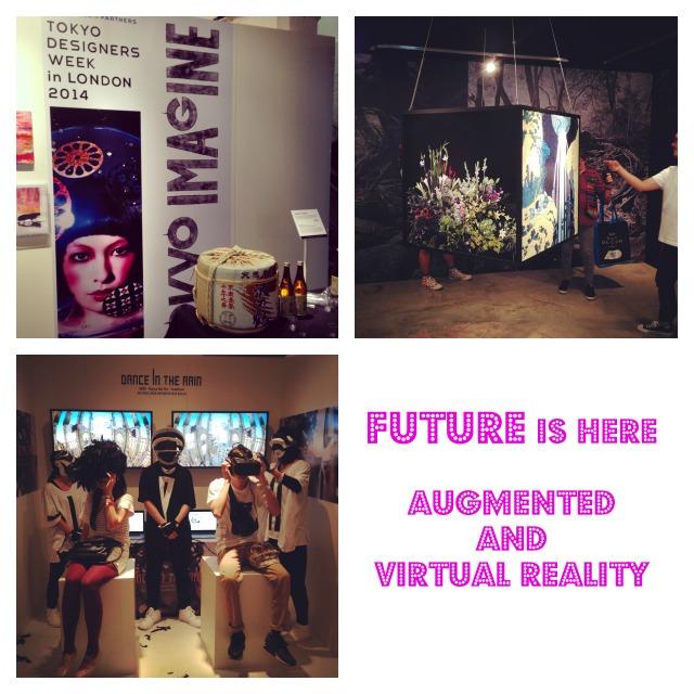 Tokyo Imagine, Tokyo designers week London 2014, augmented reality, virtual reality