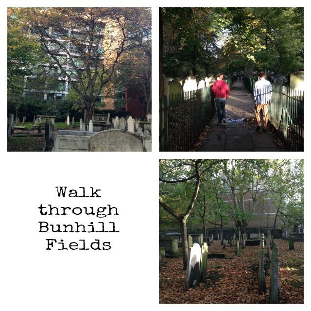 Bunhill Fields, London
