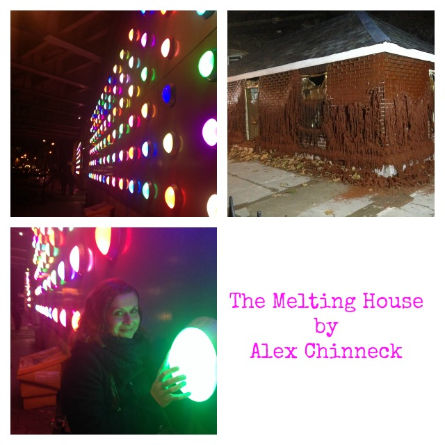 The Melting House by Alex Chinneck, Merge Festival 2014