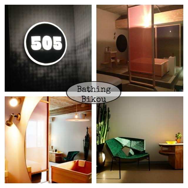 Bathing Bikou, special room, design, Volkshotel, Amsterdam