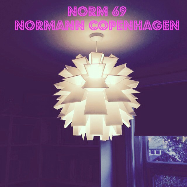 Norm 69 lamp, Classic Danish design; design icon