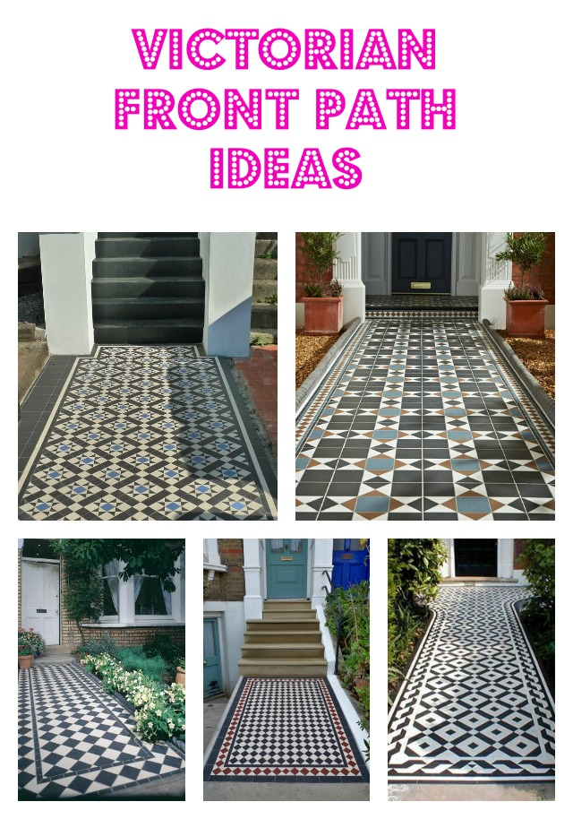 Victorian front path ideas