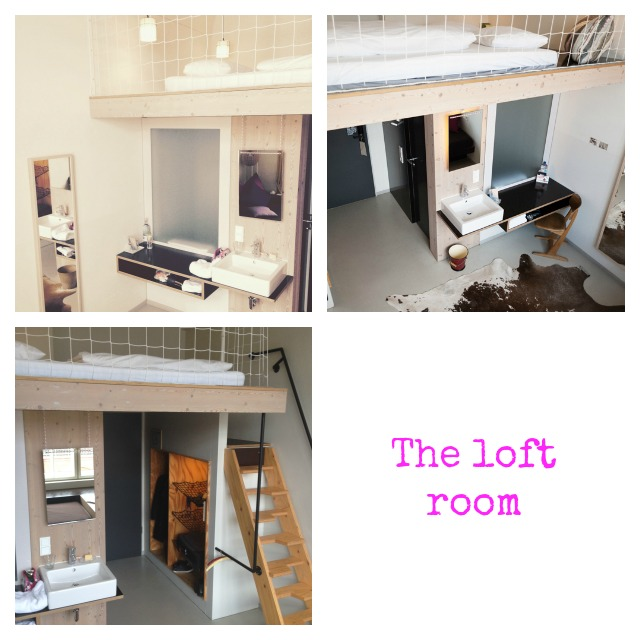 Michelberger hotel, The loft room