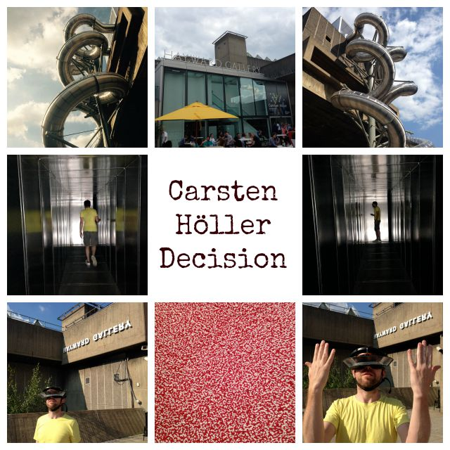 Carsten Holler, Decision, Hayward Gallery, Southbank Centre, modern art