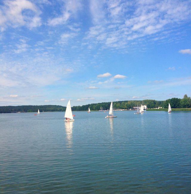 Jezioro Ukiel, Lake Ukiel, Olsztyn, Mazury, Poland