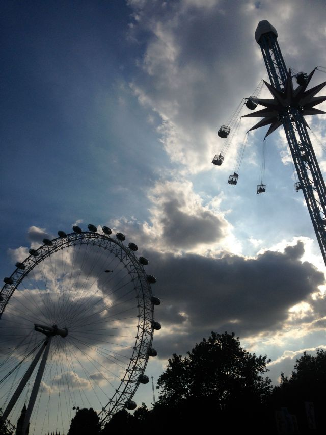 London Eye, London Wonderground, Southbank, London