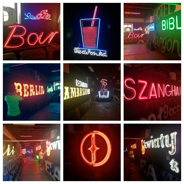 Neon museum, Muzeum neonow, Warsaw, Kamionek, Soho Factory, neons