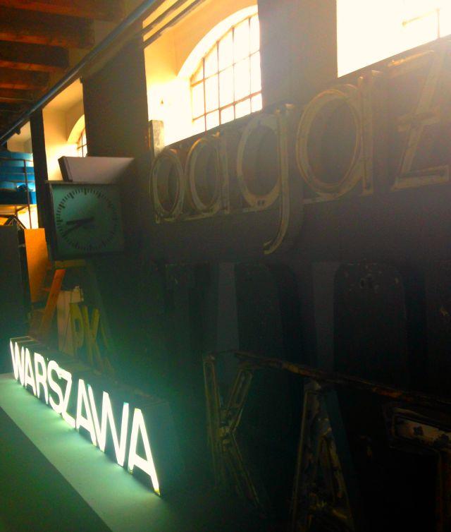Neon Warszawa, Neon museum, Muzeum neonow, Soho Factory, Kamionek, Warsaw