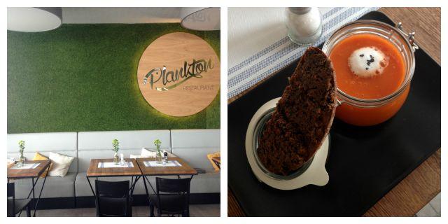 Plankton restaurant, Olsztyn, food