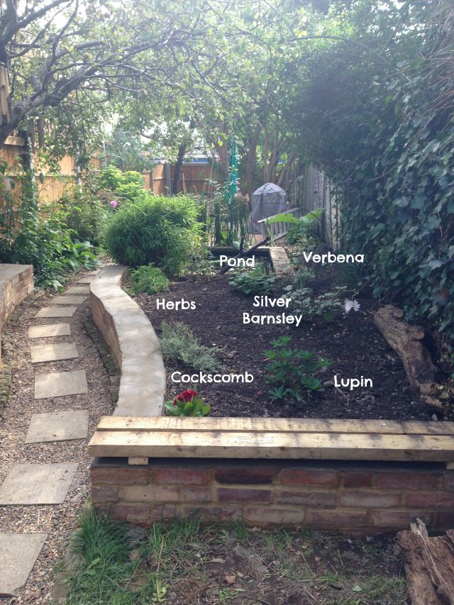 Raised beds, secretgardenhome, garden transformation, cottage garden, recycled brick