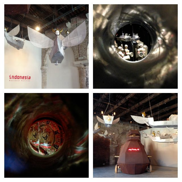Indonesian pavilion at the Venice Biennale 2015