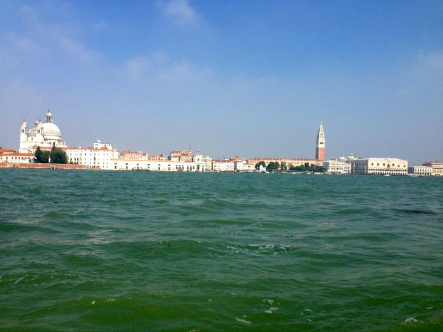 Venice, Italy, view from Guidecca